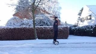 BREAKING SEGWAY IN SNOW! 2016