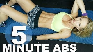5 Minute Workout #32 - Abs