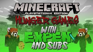 EPIC HUNGER GAMES WITH SUBS Minecraft  [Ps4]