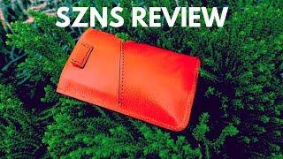SZNS Slim Minimalistic EDC Wallet Review