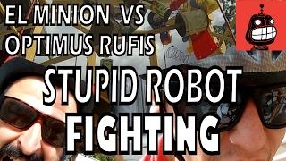 Stupid Robot Fighting League - El Minion vs Optimus Rufis