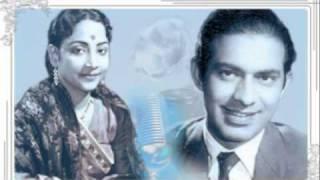 Geeta Dutt , Talat Mehmood : Raat hain armaan bhari