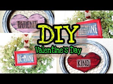 Xxx Mp4 DIY Dollar Tree Valentine S Day Rustic Farmhouse Decor 3gp Sex