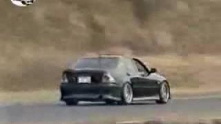 Lexus IS300 Drift on track