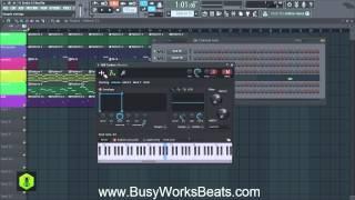 FL Studio 12 Trap Beat Tutorial | Part 4 Bass