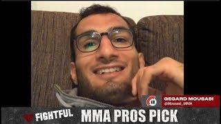 MMA Pros Pick - Robert Whittaker vs. Yoel Romero II (UFC 225)