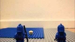 LEGO Star Wars - Palpatine goes for a Swim
