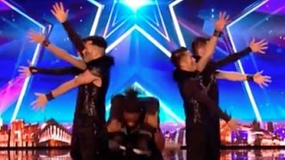 Mind Blowing Moves By ALLin Dance Crew | Audition 6 | Britain
