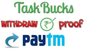 How to Transfer Money From Taskbucks to Paytm Wallet | Free Recharge
