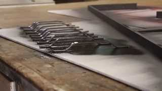 make your own metal handles and pulls easily