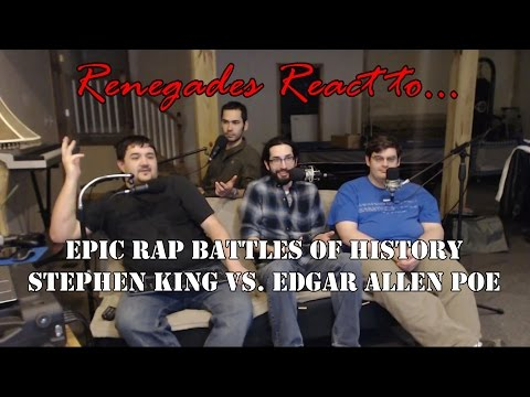 Renegades React to... Epic Rap Battles of History: Stephen King vs. Edgar Allen Poe