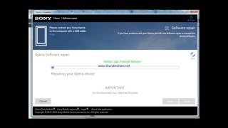 حل مشكل Sony xperia C C2305 Bootloop With Xperia Companion