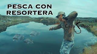 Pesca Con Resortera En Español | Caza Y Pesca