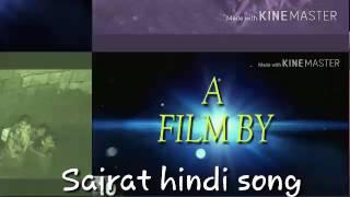 Sairat  lovly hindi song