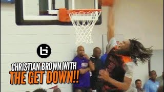 Christian Brown Backs Down from NO ONE!! Part of the Game Elite 3-Headed Monster!!