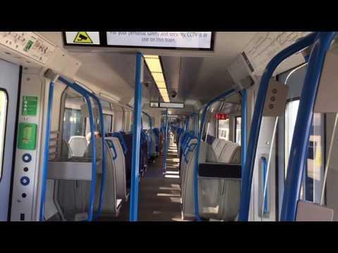 Govia Thameslink Railway Brand New Siemens Class 700109. Three Bridges To Bedford