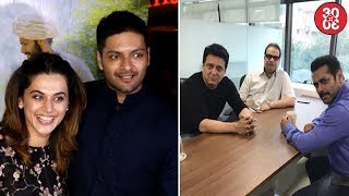 Taapsee Feels Proud Of Ali's Character In 'Victoria & Abdul' | Salman Meets Sajid & Ramesh Taurani