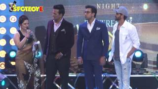 Hrithik Roshan and Ranbir Kapoor Shared the Stage at an Event   SpotboyE