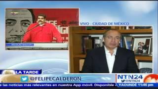 """Expresidente mexicano asegura que """"es una ruptura constitucional"""" la crisis en Venezuela"""