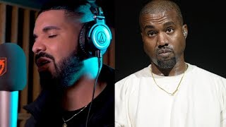 """Drake Spits New Freestyle Going At Kanye West.... """"They Wanna Link Up When They Ain"""