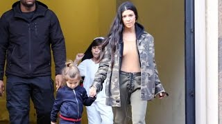 Kourtney Kardashian Asked If Justin Bieber And Kanye Are Going To Make An Album Together