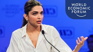Deepika Padukone Addresses the Stigma of Mental Health Issues