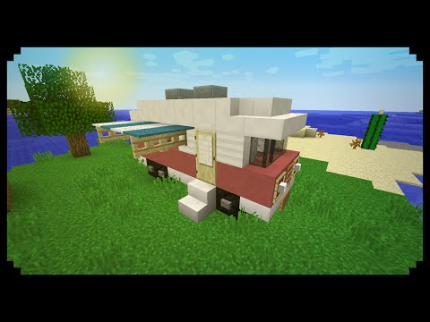 ✔ Minecraft: How to make a Camping Van