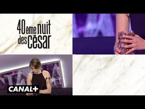 Adèle Haenel - César de la Meilleure Actrice 2015