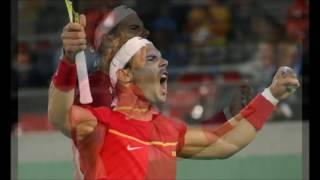 Rafael Nadal Y Marc López Campeones Olímpicos En Dobles De Tenis 2016