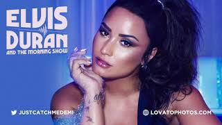 Demi Lovato on the 'Elvis Duran and The Morning Show' - August 17