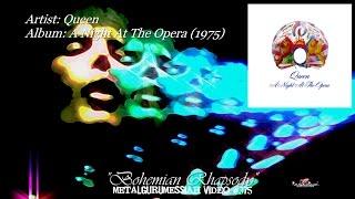 Bohemian Rhapsody - Queen (1975) Audiophile 96kHz/24bit FLAC HD  1080p Video ~MetalGuruMessiah~
