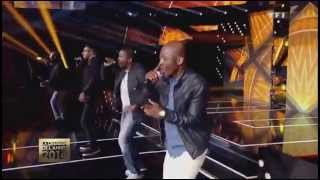 Magic System Ft Chawki - Magic In The Air (Live @ La chanson de l'année 2014)