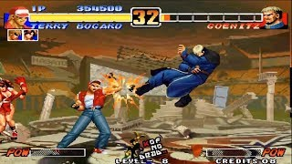 Tips vs Bosses Terry vs Goenitz KOF 96