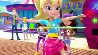 Polly Pocket full episodes | Hoop it up - challenge time! 🌈Compilation | Kids Movies | Girls Movie