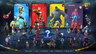 How To Change Costumes In Marvel Battlegrounds - Disney Infinity 3.0