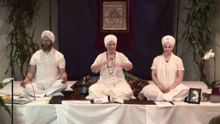 Preparatory Exercises for Lungs, Magnetic Field, and Deep Meditation with Sat Dharam Kaur N.D.
