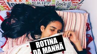 MINHA ROTINA DA MANHÃ NO INVERNO