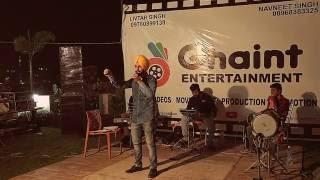 Talwinder Talbi (Live) Jatt Nehar Labhda | Ghaint Singh Entertainment | Livtar Singh | Navneet Singh