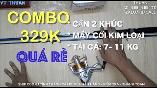 Combo 329K| Cần Shiamno Scabard 2m4 + Yumoshi BL 6000 [CÒN HÀNG]