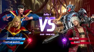 Marvel VS. Capcom: Infinite (Xbox One) Arcade as Doctor Strange & Captain Marvel