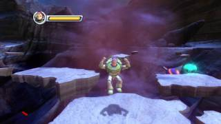 Let's Play! Toy Story 3! Buzz Video Game - Level Three - Part One (Buzz Lightyear is pompous)
