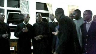 Seminarians Singing