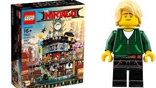 НИНДЗЯГО СИТИ LEGO Ninjago Movie и минифигурки ТОП игрушки ЛЕГО 2017 Обзор