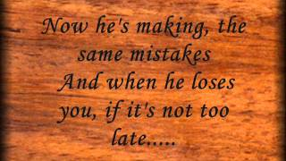 if you loved me  lyrics  tracy lawrence