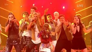 The X Factor UK 2016 Live Shows Week 1 Contestants Opening Act Full Clip S13E14