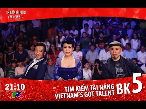 FULL HD Vietnam s Got Talent 2016 BÁN KẾT 5 TẬP 13 08 04 2016