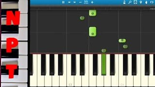 Ariana Grande - One Last Time - Piano Tutorial - Synthesia - How To Play