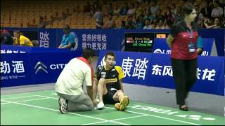 Group (Day 3) - Denmark (P.Gade) vs Malaysia (Lee C.W.) - Thomas Cup 2012