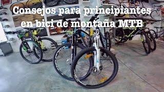 Consejos para principiantes en bici de montaña MTB