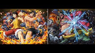 OPTC - Forest Blackbeard - Luffy & Ace team